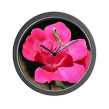 Rosy Mantis Wall Clock