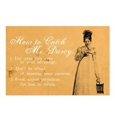 How to Catch Mr. Darcy Postcards (Package of 8)