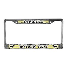 Official Boykin Spaniel Taxi License Plate Frame