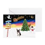 XmasSigns/Corgi Pup (Z) Greeting Cards (Pk of 20)