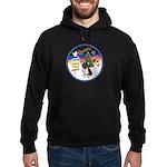 XmasSigns/Corgi Pup (Z) Hoodie (dark)