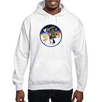 XmasSigns/Corgi Pup (Z) Hooded Sweatshirt