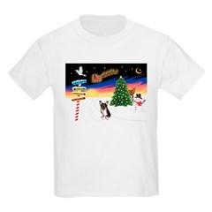 XmasSigns/Corgi Pup (Z) Kids Light T-Shirt