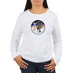 XmasSigns/Corgi Pup (Z) Women's Long Sleeve T-Shir