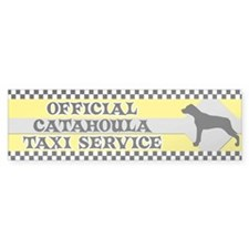 Official Catahoula Taxi Bumper Bumper Sticker