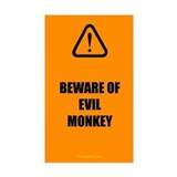 Evil Monkey Decal