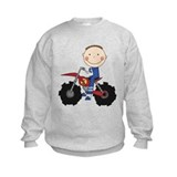 Motocross Racing Blue Sweatshirt