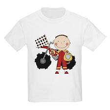 Motocross Racing Red T-Shirt