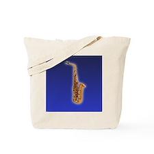 Funny Saxaphone Tote Bag