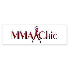 MMA Chic Bumper Bumper Sticker