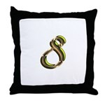 Phyllis Initials 8 Throw Pillow