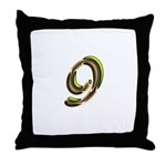 Phyllis Initials 9 Throw Pillow
