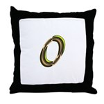 Phyllis Initials 0 Throw Pillow