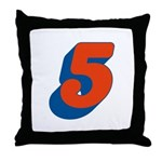 Candice 3D 5 Throw Pillow