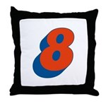 Candice 3D 8 Throw Pillow
