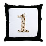 Tortoise Shell 1 Throw Pillow