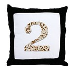 Tortoise Shell 2 Throw Pillow