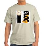 Blog Happy Ash Grey T-Shirt