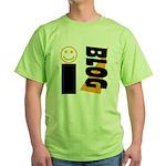 Blog Happy Green T-Shirt
