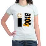 Blog Happy Jr. Ringer T-Shirt