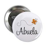 Abuela Butterfly 2.25&quot; Button