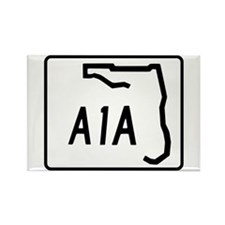 Florida A1A Rectangle Magnet