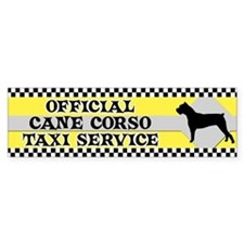 Official Cane Corso Taxi Bumper Bumper Sticker