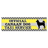 Official Canaan Dog Taxi Bumper Bumper Sticker