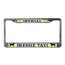 Official Chessie Taxi License Plate Frame