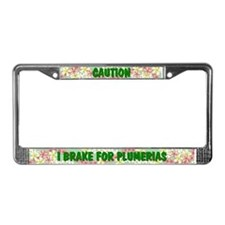 Cute Hobbies License Plate Frame