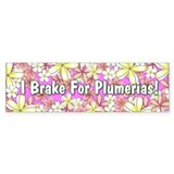 Plumeria Bumper Stickers