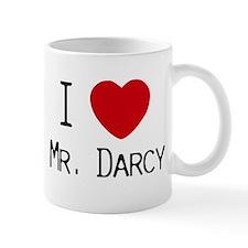 I :heart: Mr. Darcy Mug