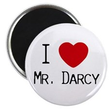 I :heart: Mr. Darcy Magnet