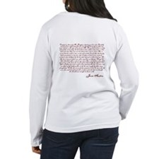 Pride and Prejudice (With Quote) Long Sleeve T