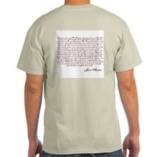 Pride and Prejudice (With Quote) T-Shirt