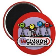 "Inclusion Better Together 2.25"" Magnet (100 pack)"