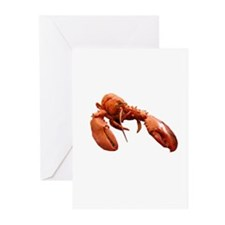 Lobster Logo Greeting Cards (Pk of 10)