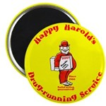 Happy Harold Magnet