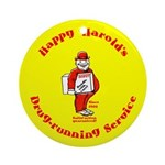 Happy Harold Ornament (Round)