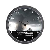Unique Storm chasing Wall Clock