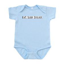 Eat, Sleep, Zoology Infant Creeper