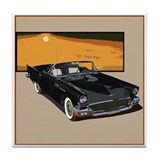 Ford thunderbird Drink Coasters