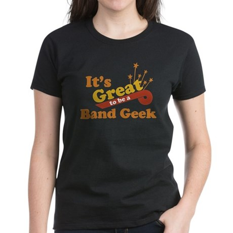 Band Geek Women's Dark T-Shirt