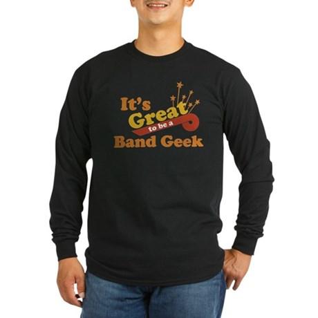 Band Geek Long Sleeve Dark T-Shirt