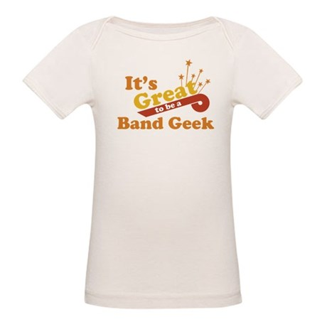 Band Geek Organic Baby T-Shirt