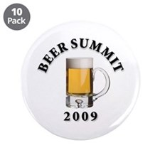 """Beer Summit - 3.5"""" Button (10 pack)"""