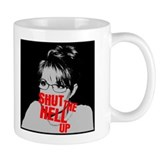 """Shut Up, Palin"" Mug"