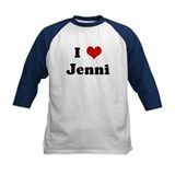 I Love Jenni Tee