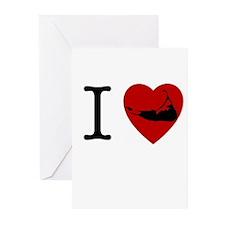I <3 Nantucket Greeting Cards (Pk of 20)