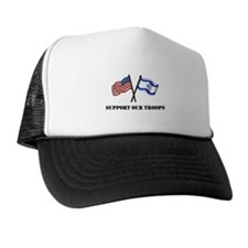 American Israeli Friendship Trucker Hat